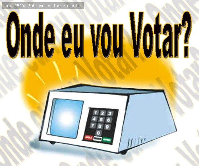CONFIRA OS LOCAIS DE VOTAÇÃO E SEÇÕES ELEITORAIS DE SUA CIDADE