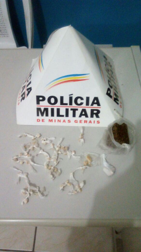 DUAS TRAFICANTES, UMA DELAS ADOLESCENTE, SÃO PRESAS EM GALILEIA TRAZENDO DROGAS