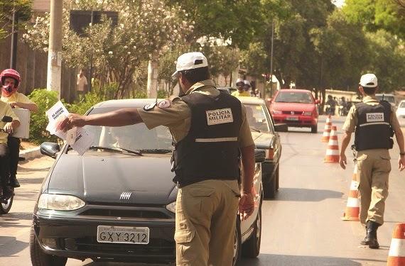 POLÍCIA MILITAR INTENSIFICARÁ FISCALIZAÇÃO DE TRÂNSITO EM CONSELHEIRO PENA