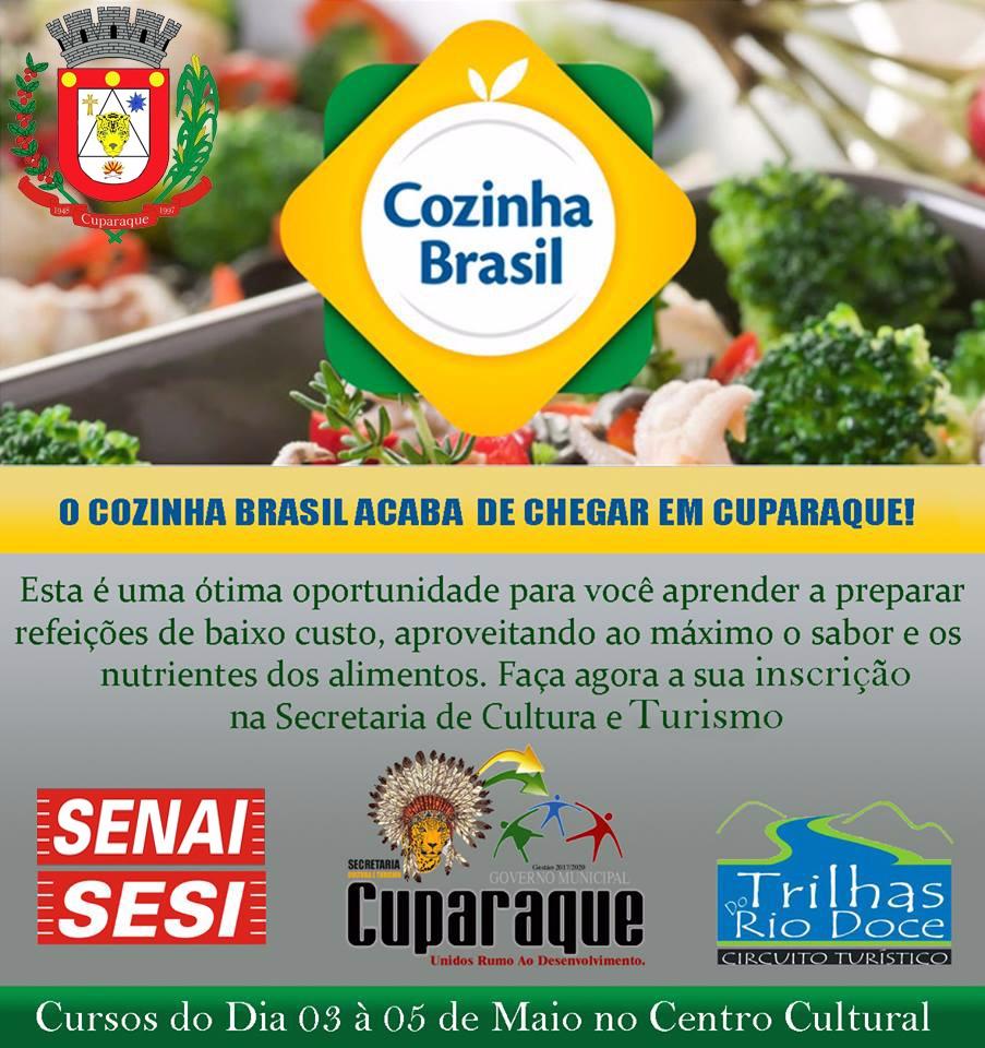COZINHA BRASIL ACABA DE CHEGAR EM CUPARAQUE