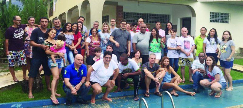 Encontro espiritual do grupo « Casais feitos para Jesus» realizado nos dias 10, 11 e 12 de novembro em Governador Valadares.