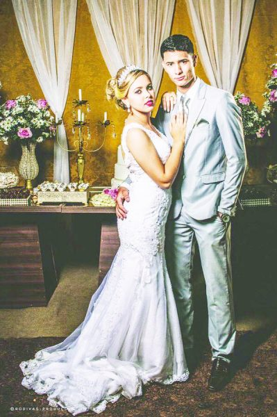 Lorran Filipe(serv. Pref. Goiabeira) e Viviane Carrijo - realizaram o sonho no dia 14/10