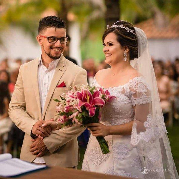 Enlace do casal Weider e Luana no dia 17/12 registramos esse momento tão especial