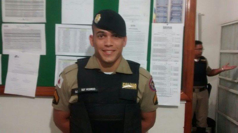 Somando ao pelotão de Conselheiro Pena, o Sargento Rodrigo