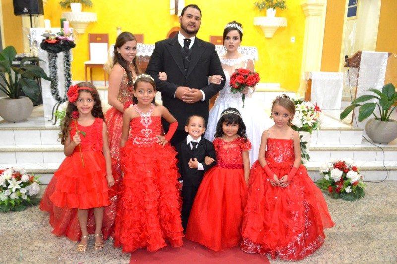 Casamento de Girlan e Maria Regina, registrado por Carlito Robadel