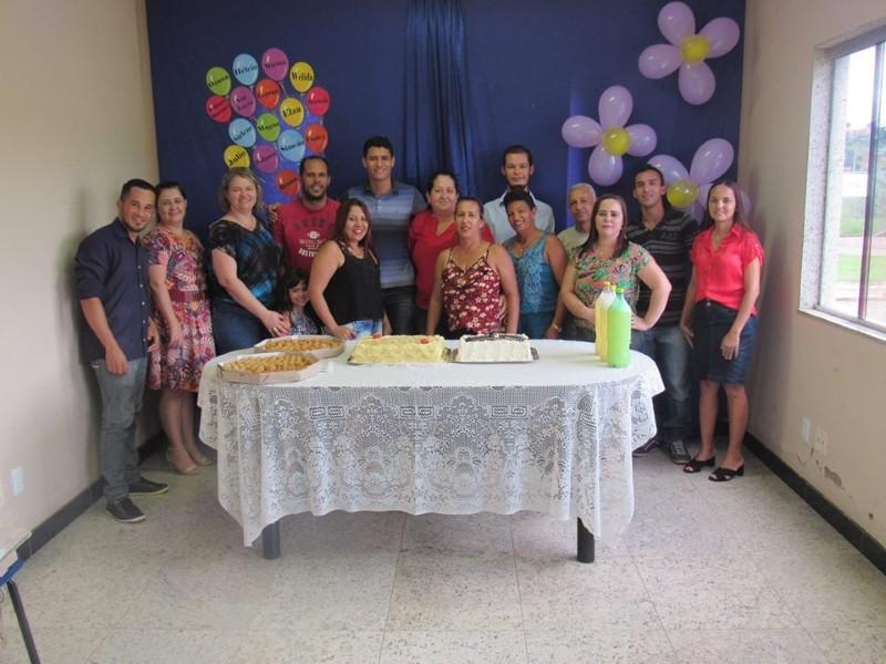 Aniversariantes do segundo semestre de 2017, servidores da prefeitura de Goiabeira - Felicidades e sucesso em 2018.