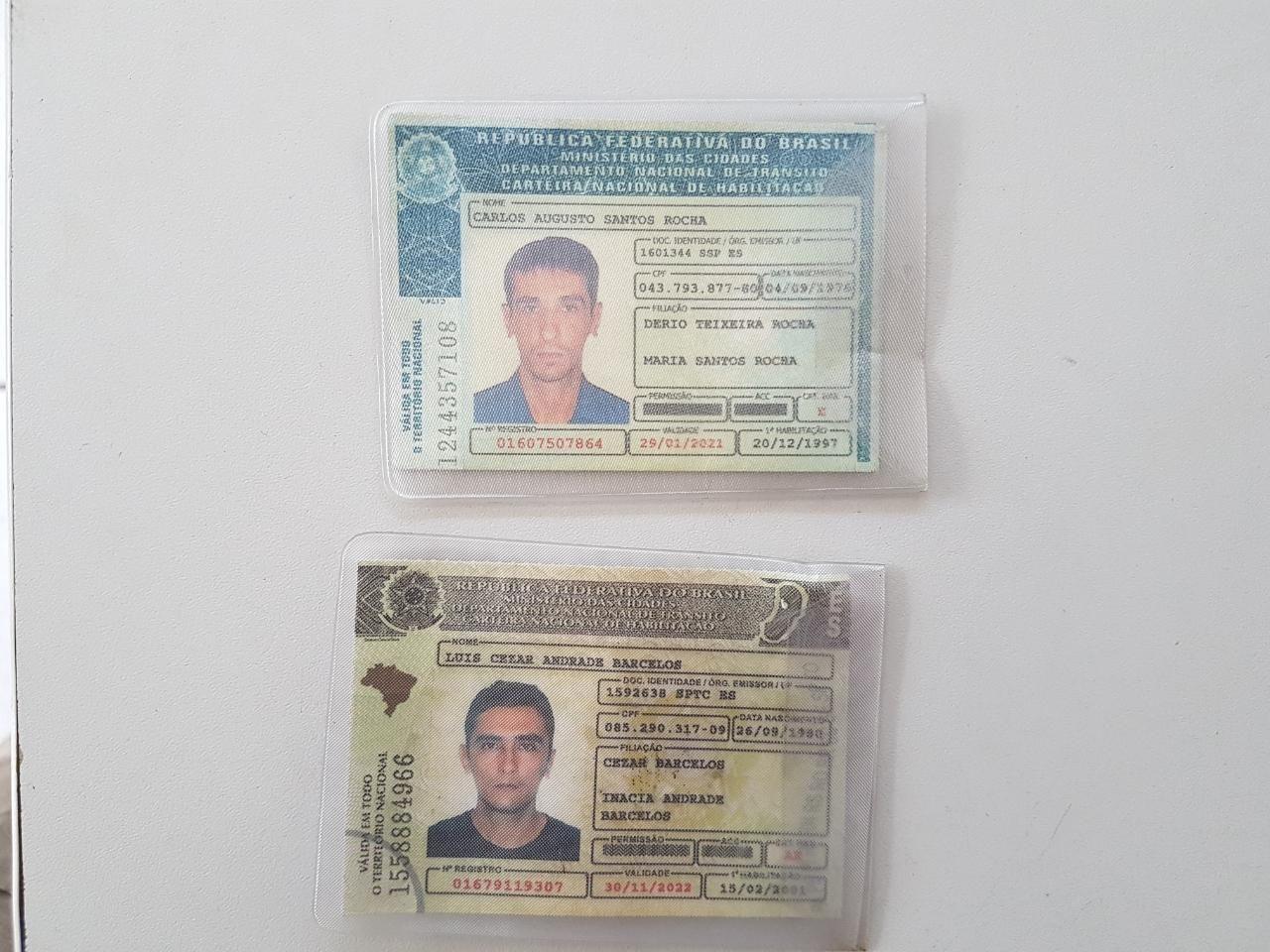 POLÍCIA MILITAR PRENDE MEMBROS DE QUADRILHA DE ROUBO DE CARGAS NA BR-259