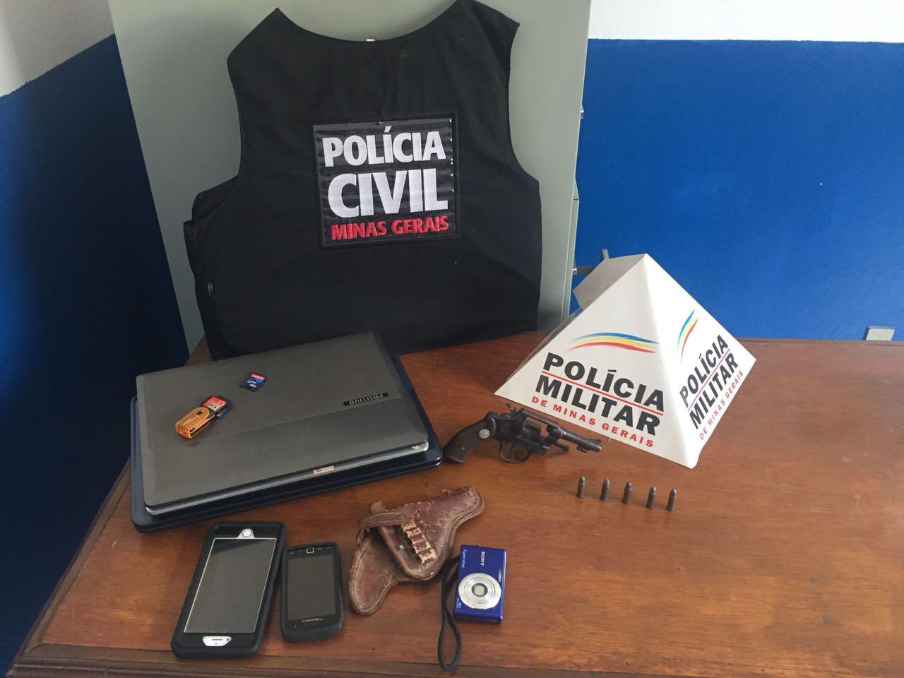 Operação Conjunta Polícia Militar e Polícia Civil em Divino das Laranjeiras