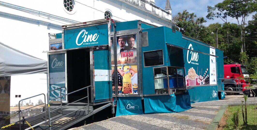 CIDADES DA REGIÃO VÃO RECEBER CINEMA MÓVEL GRATUITO – CINE VITÓRIA A MINAS