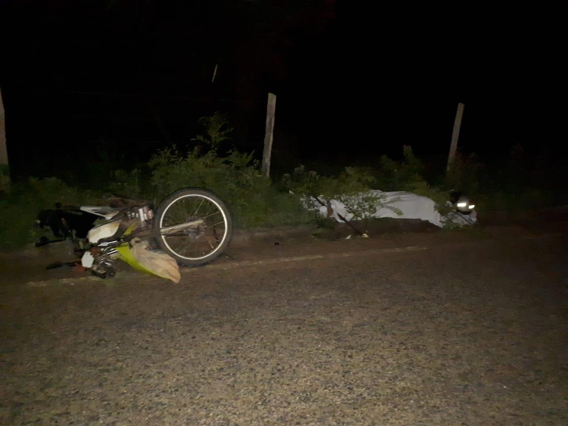 MOTOCICLISTA MORRE NA ESTRADA PARA GOIABEIRA