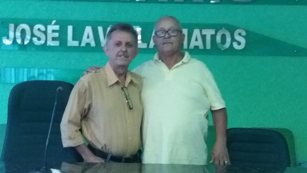 VEREADOR SEBASTIÃO LEANDRO TOMA POSSE NA VAGA DE MARQUINHOS NA CÂMARA DE VEREADORES DE CONSELHEIRO PENA