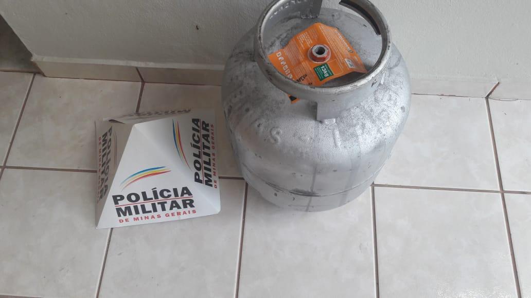 DONO DE BAR É PRESO POR TER COMPRADO UMA BOTIJA DE GÁS FURTADA