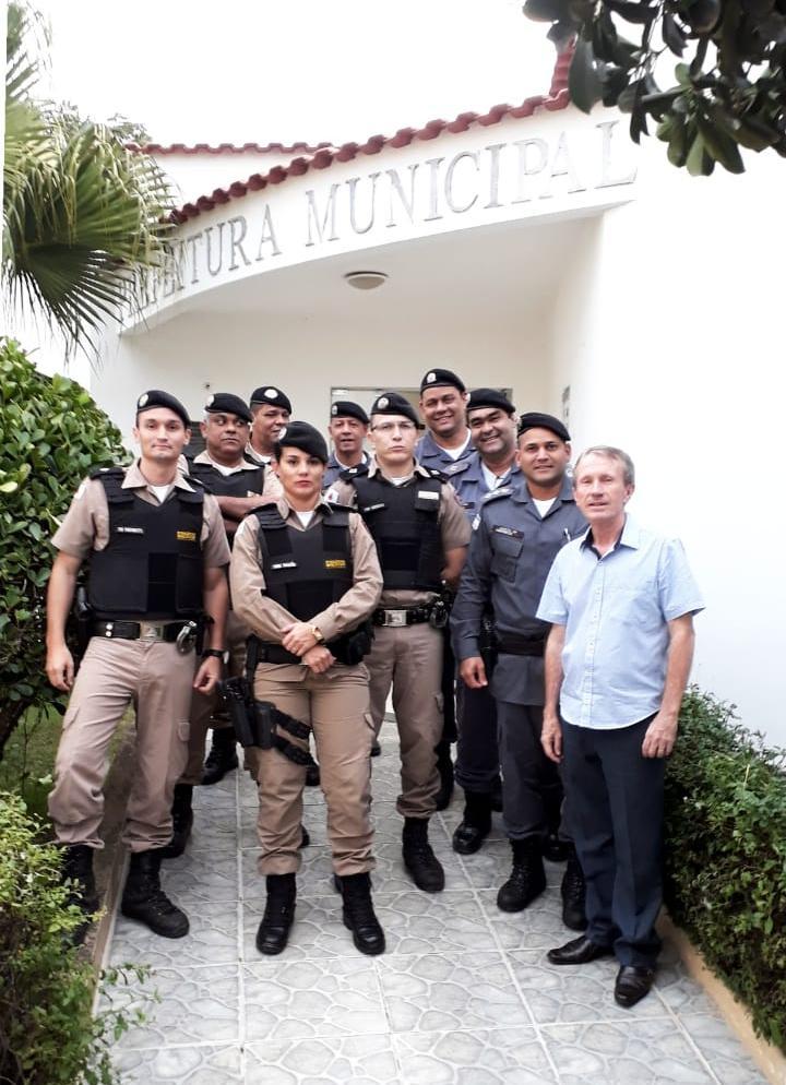 MILITARES DE MINAS GERAIS E ESPÍRITO SANTO DISCUTEM SEGURANÇA NA FRONTEIRA EM ALTO RIO NOVO