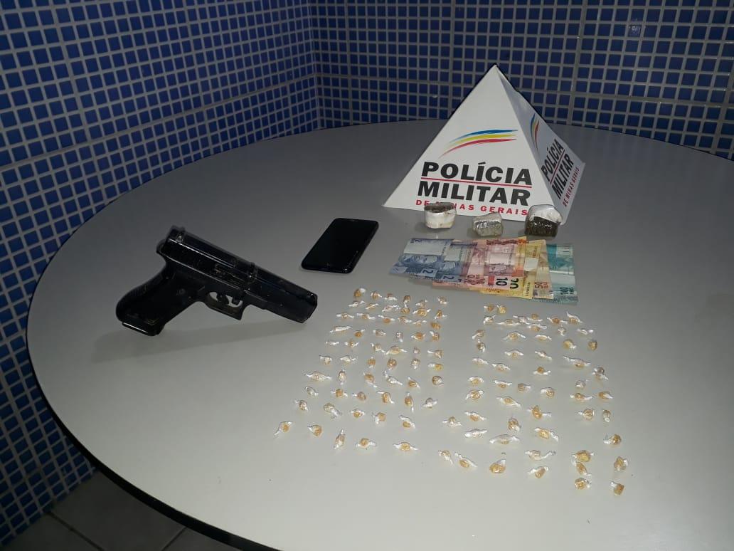 POLÍCIA MILITAR DESARTICULA TRAFICANTES E APREENDE ADOLESCENTE ENVOLVIDO COM O TRÁFICO
