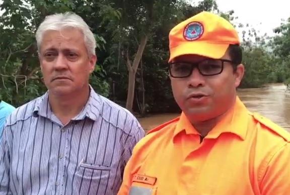 PREFEITO HÉLCIO NOGUEIRA DE GOIABEIRA MANIFESTA SOBRE ENCHENTE QUE ASSOLOU A CIDADE