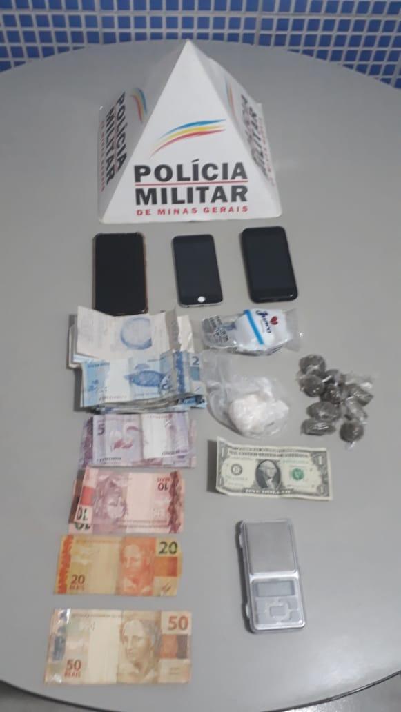 CASAL TRAFICANTE QUE FAZIA DELIVERY DE DROGAS É PRESO PELA POLÍCIA MILITAR