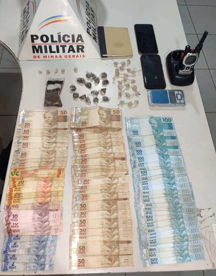 POLÍCIA MILITAR PRENDE 3 SUSPEITOS DE TRÁFICO DE DROGAS EM RESPLENDOR