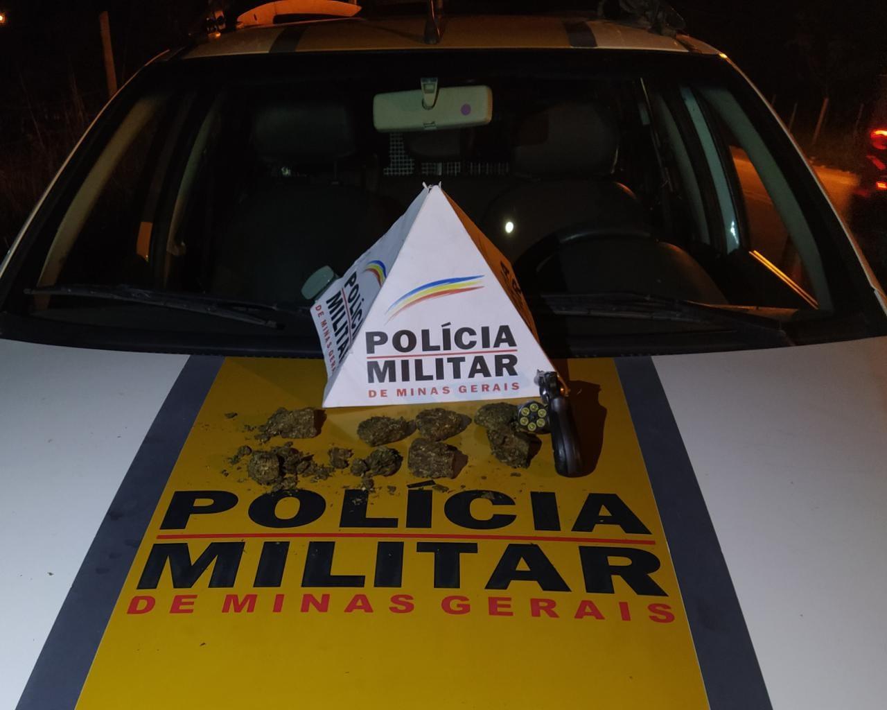 POLÍCIA MILITAR RODOVIÁRIA PRENDE 3 SUSPEITOS COM DROGAS E ARMA NA BR 259