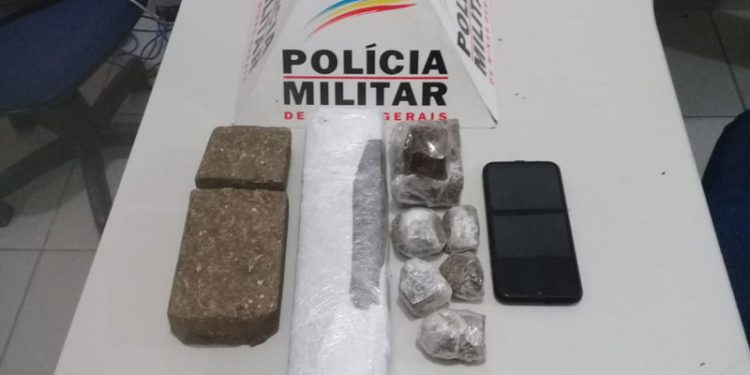 MULHER É PRESA SUSPEITA DE TRÁFICO DE DROGAS EM RESPLENDOR
