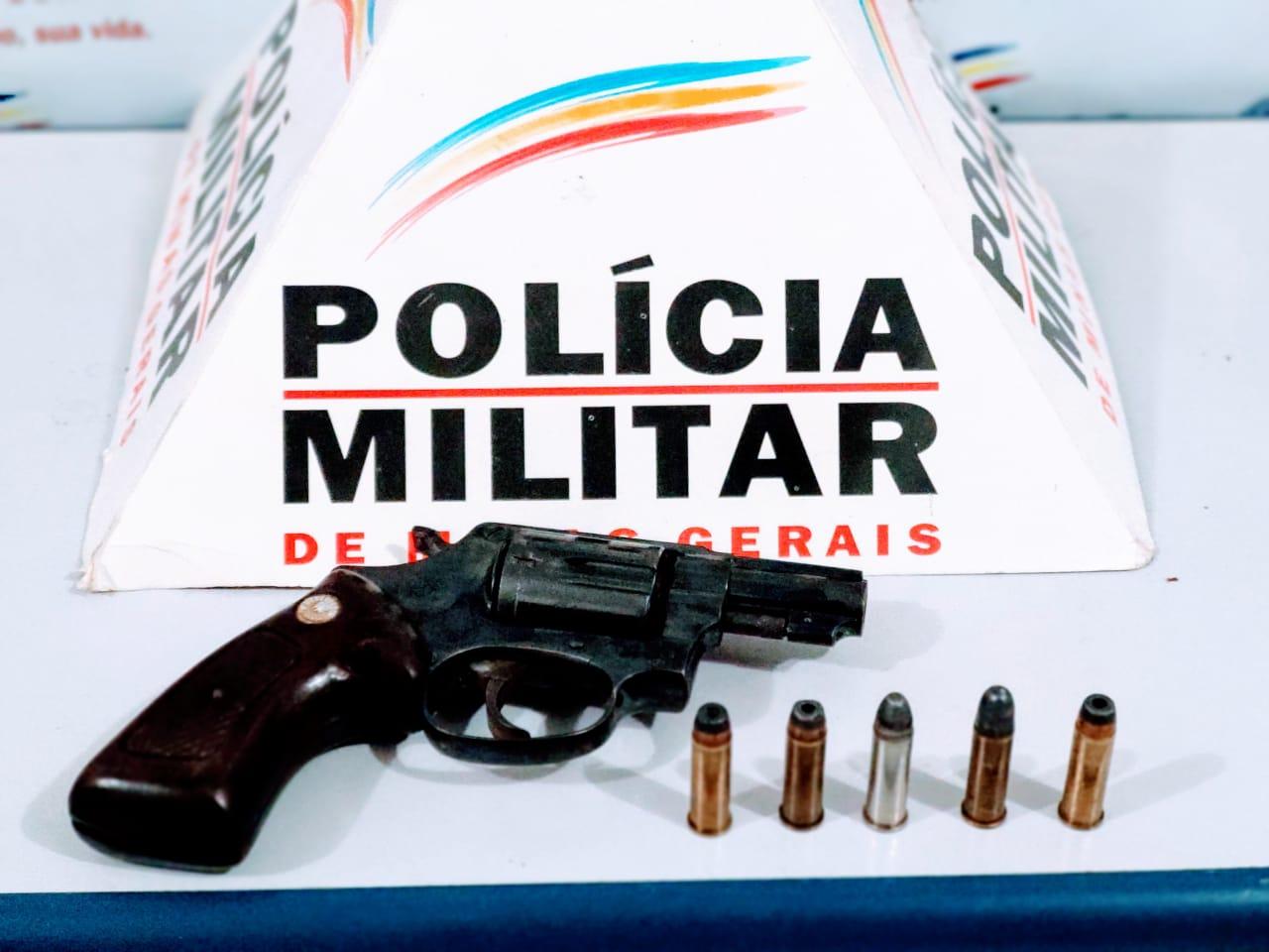 2 PESSOAS SÃO PRESAS POR POSSE DE ARMA DE FOGO EM CALIXTO ZONA RURAL DE RESPLENDOR
