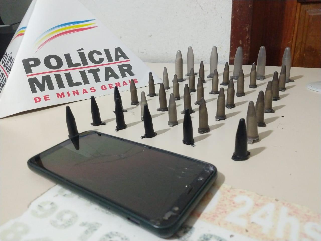 TRAFICANTE É PRESO PELA POLÍCIA MILITAR EM ESTAÇÃO FERROVIÁRIA