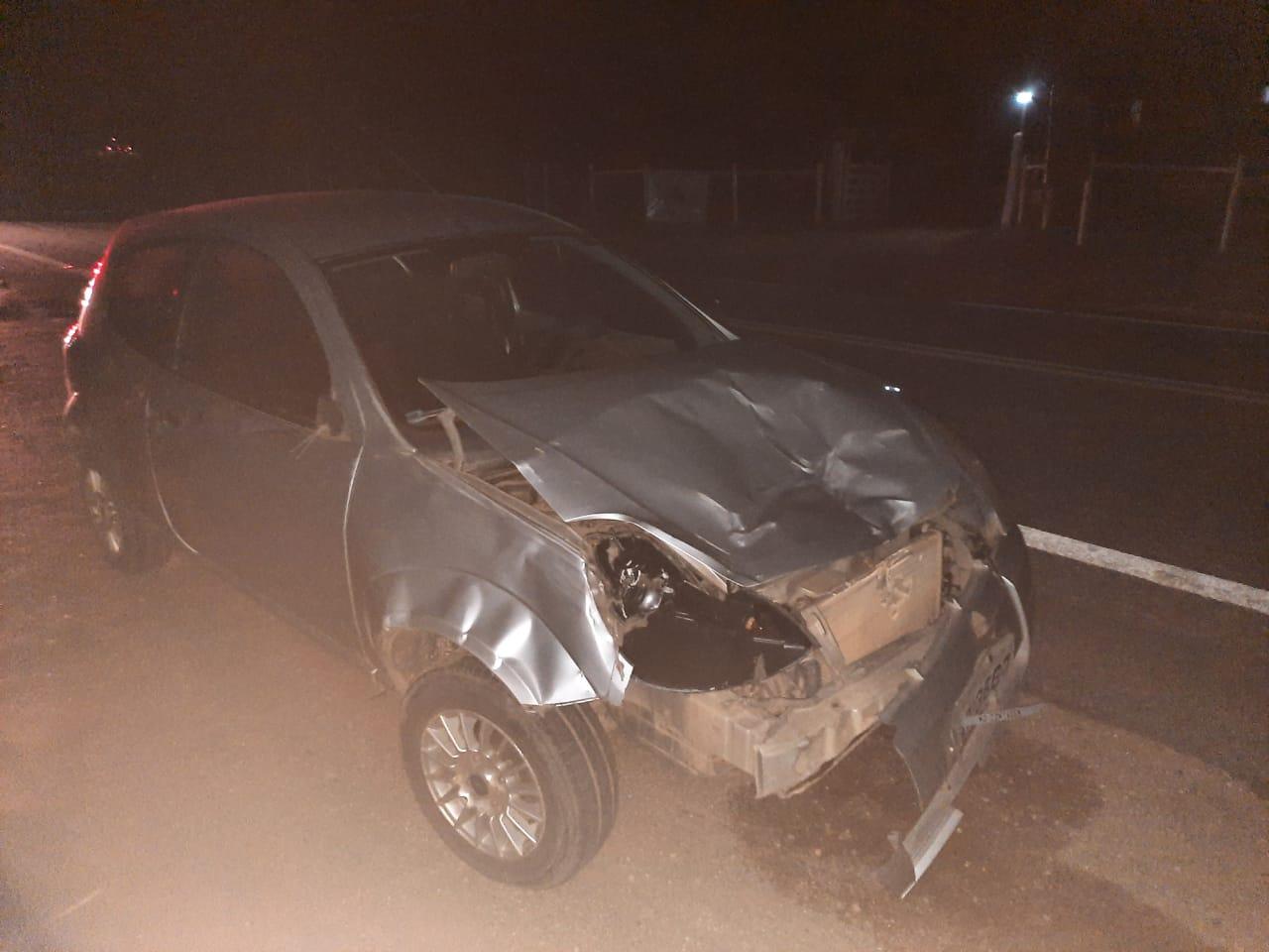 MOTORISTA BATE EM VACA NA BR 259 – ACIDENTE QUASE VIRA TRAGÉDIA