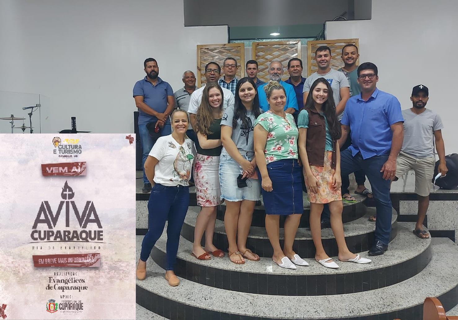 AVIVA CUPARAQUE – COM APOIO DA PREFEITURA COMEMORAÇÃO DO DIA DO EVANGÉLICO SERÁ DIA 30/10